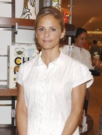 Amy Sedaris at the Todd Oldham's book signing which she hosted.