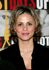 Amy Sedaris at the opening night of