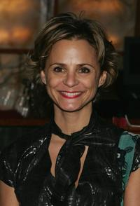 Amy Sedaris at the after party for the opening night of