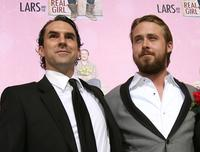 Paul Schneider and Ryan Gosling at the premiere of