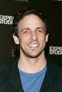 Seth Meyers at the Smashbox Studios at