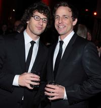 Andy Samberg and Seth Meyers at the Museum Gala 2007.