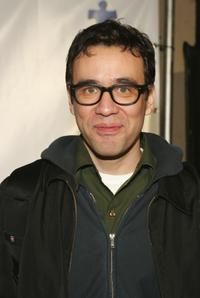 Fred Armisen at the Armisen attends the Comedy Love Call Benefit.