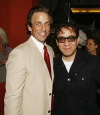 Seth Meyers and Fred Armisen at the premiere of