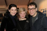 Julianna Margulies, Martha Plimpton and Fred Armisen at the Olympus Fashion Week Fall 2006.