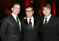 Seth Meyers, Fred Armisen and Will Forte at the American Museum of Natural History's Annual Museum Gala.