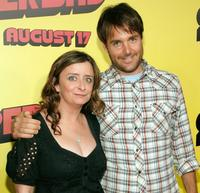 Rachel Dratch and Will Forte at the premiere of