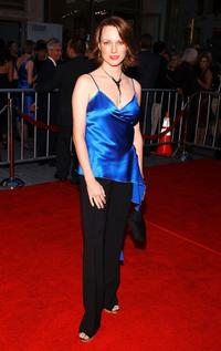 Julie Ann Emery at the opening night of