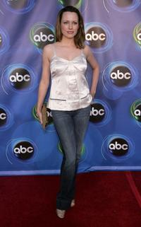 Julie Ann Emery at the ABC TCA party.