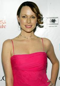 Julie Ann Emery at the Movieline's Hollywood Life 2004 Breakthrough Awards.