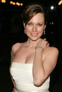 Julie Ann Emery at the world premiere of