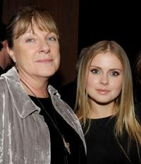 Carolynne Cunningham and Rose McIver at the after party of the premiere of