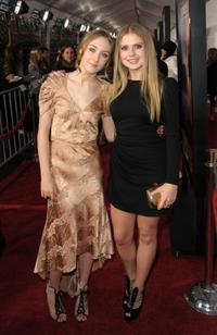 Saoirse Ronan and Rose McIver at the after party of the premiere of