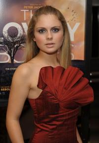 Rose McIver at the special screening of