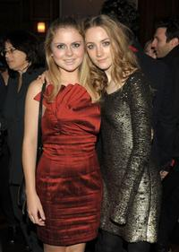 Rose McIver and Saoirse Ronan at the after party of the special screening of