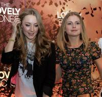 Saoirse Ronan and Rose McIver at the press conference of