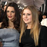 Rachel Weisz and Rose McIver at the premiere of