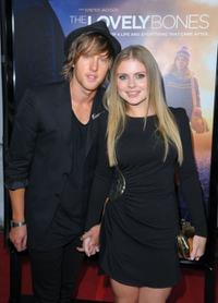 Rose McIver and Guest at the premiere of