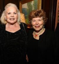 Carroll Baker and Anne Jackson at the National Arts Club dinner.