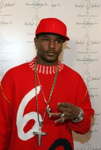 Cam'ron at the Baby Phat Pre party.