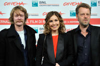 Kristoffer Joner, Noomi Rapace and director Pal Sletaune at the photocall of