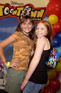Alyson Stoner and Liliana Mumy at the Disney's