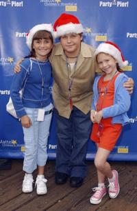Alyson Stoner, Kevin Schmidt and Liliana Mumy at the 4th Annual Party on the Pier.