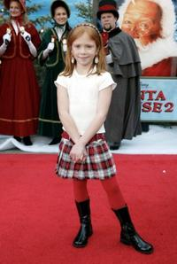 Liliana Mumy at the California premiere of