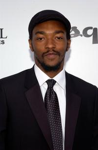 Anthony Mackie at the The Envelope Please APLA/Esquire Magazine Oscar Party.