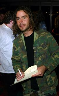 Chris Pontius at the MTV Europe Music Awards.