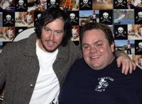 Ehren McGhehey and Preston Lacy at the UK premiere of