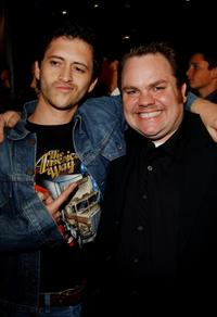 Clifton Collins Jr. and Preston Lacy at the premiere of