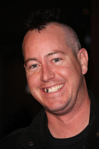 Ehren McGhehey at the Blu-ray and DVD launch of