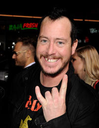 Ehren McGhehey at the California premiere of