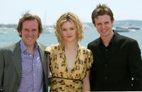 Ben Miller, Julia Stiles and Luke Mably at the 56th International Cannes Film Festival.