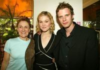 Director Martha Coolidge, Julia Stiles and Luke Mably at the 56th International Cannes Film Festival.