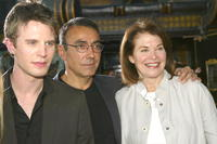 Luke Mably, Producer Mark Amin and Sherry Lansing at the premiere of