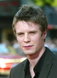 Luke Mably at the premiere of
