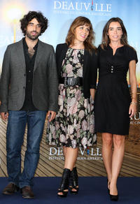 Karim Saleh, Marianna Kulukundis and Elodie Bouchez at the photocall of