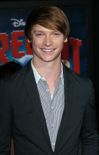 Calum Worthy at the California premiere of