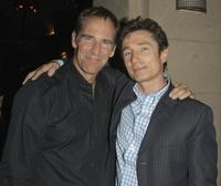 Scott Bakula and Dominic Keating at the