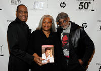 Freddie Jackson, Marva Allen and Melvin Van Peebles at the Dionne Warwick 50th Anniversary In Show Business Gala in New York.