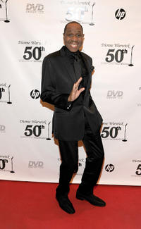 Freddie Jackson at the Dionne Warwick 50th Anniversary In Show Business Gala in New York.