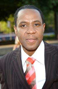Freddie Jackson at the National Black Sports and Entertainment Hall of Fame.