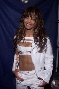 Janet Jackson at the 'MTV ICON: Janet Jackson' show taping in Los Angeles.