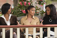 Tasha Smith, Janet Jackson and Sharon Leal in