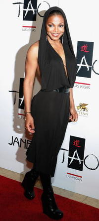 Janet Jackson at the Tao Nightclub in Las Vegas, Nevada.