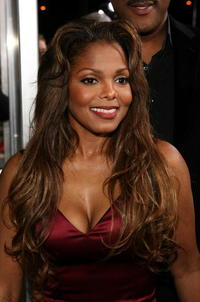 Actress and singer Janet Jackson at the L.A. premiere of