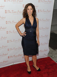 Ana Ortiz at the 10th Annual Trevor New York Summer Gala in New York.