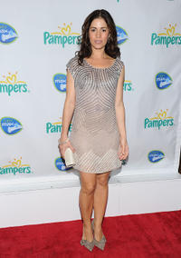 Ana Ortiz at the Pampers Dry Max Launch party in New York.